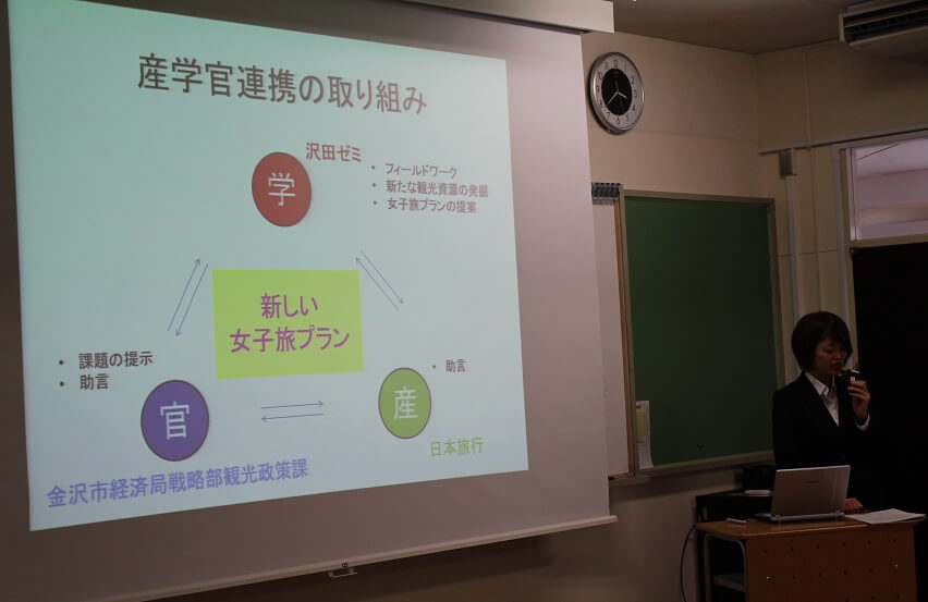 2月5日(月)コミュニティ文化学科「専門ゼミ発表会」