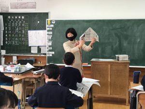 保護者による特別授業~山のおはなし会