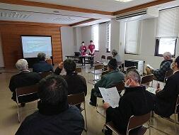 【よりそいの花プロジェクト】崎山地区報告会を行いました